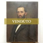 Dipinto ad olio su tela di Giuseppe Frascheri: ritratto