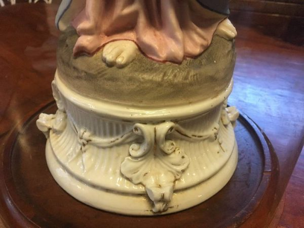 Antica Madonna Porcellana Biscuit del '900