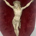 Antico Cristo in avorio scolpito del 1700 – 002