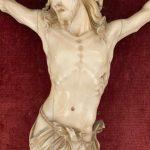Antico Cristo in avorio scolpito del 1700 – 003
