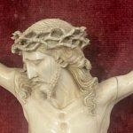 Antico Cristo in avorio scolpito del 1700 – 009