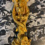 Coppia di Appliques '800 in bronzo dorato Napoleone III – 004