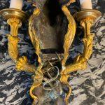 Coppia di Appliques '800 in bronzo dorato Napoleone III – 008