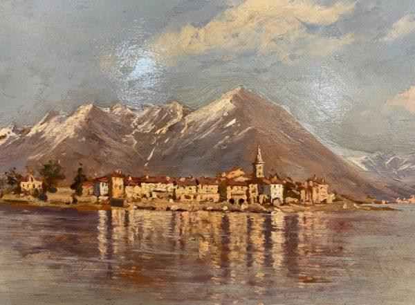 Dipinto ad olio di Luigi Napoleone Grady
