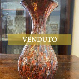 Vaso in ceramica policroma di V.M.A., Vittoria Mazzotti Albisola